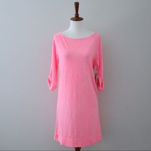 Lilly Pulitzer Neon Pink Camie Dress Size Small